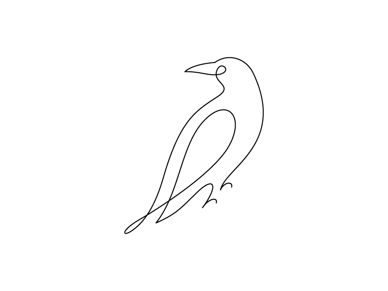 Raven by Rogie on Dribbble