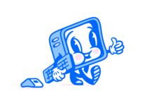 Super Team Deluxe Mascot