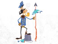 Ivan the Sea Capp'n Illustration