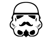 This isn't the mustache you were looking for...