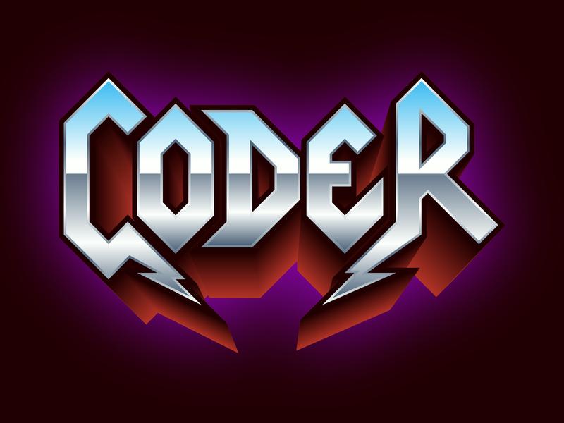 Coder metal engineer develop developer programmer
