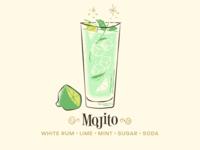Mojito / Drinktober / Inktober