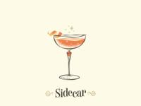 Sidecar / Drinktober / Inktober