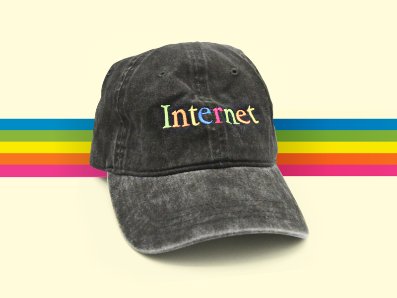 Internet Dad Hat super team super team deluxe vintage dad hat apparel retro