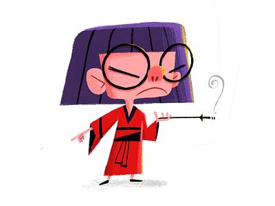 Dahhhhhling illustration character design edna mode incredibles pixar disney art
