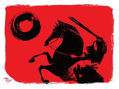 For Honor! brushes brush stroke feminism mulan disney art illustration