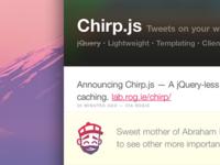 Chirp.js