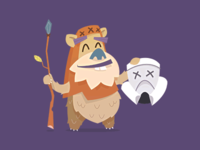 Ewok Illustration