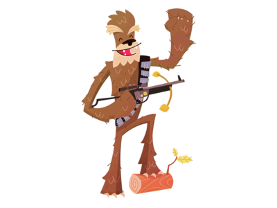 Chewy Illustration