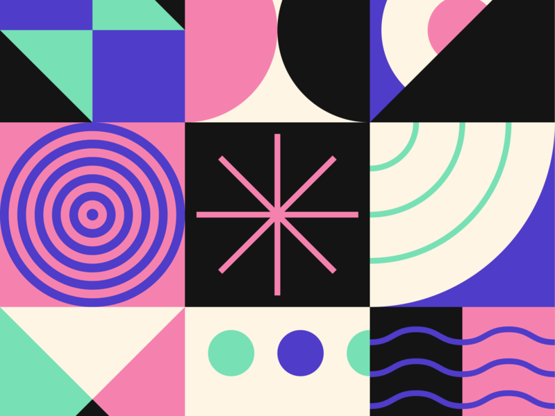 Pattern 03 bright vector branding pattern art illustration