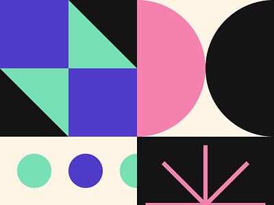 Pattern Swatches pattern design branding brand pattern illustration
