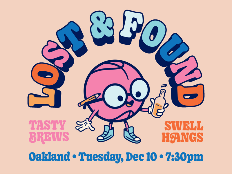 Oakland Dribbble Meetup (Next week — Tuesday, December 10th)