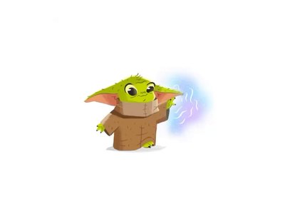 Baby Yoda [ANIMATED]