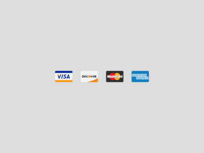 Simple credit card icons for NeonMob icon credit card