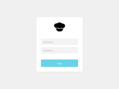 Login muffin form login