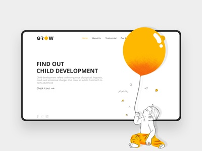 Child Development Landing Page