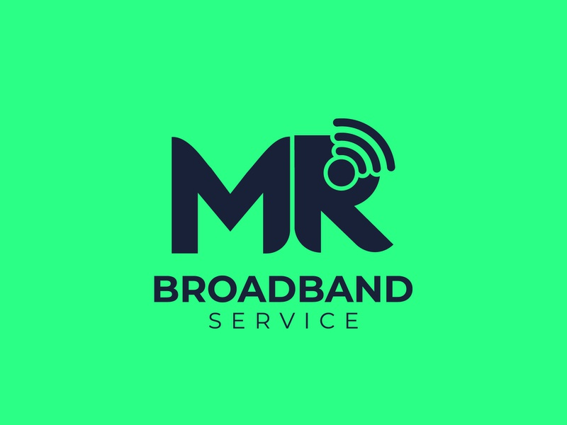 MR Letter with WiFi Logo