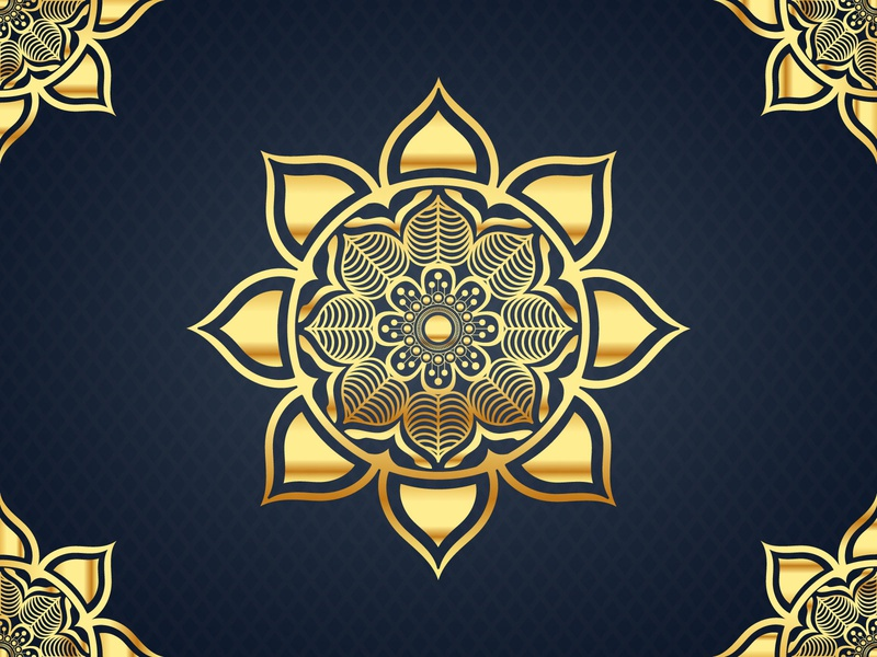 Luxury Mandala Background design mandala background mandalas mandala art background golden anniversary card template art design royal flower abstract ornament gold beauty pattern style invitation decoration