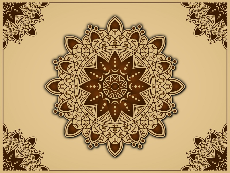 Arabian Mandala Background Design mandala pattern islamic design islamic mandala background mandala background arabian mandala mandalas mandalaart mandala art mandala