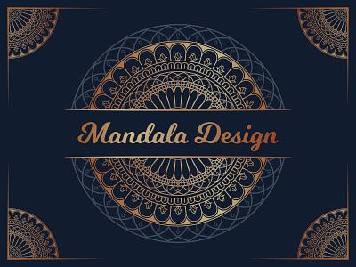 Luxury Ornamental Mandala Background Design royal mandala beautiful mandala pattern art mandala background mandala art luxury mandala mandala design mandala creativity design vector illustration