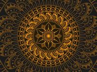 Colorful Mandala Background design mandalaart professional mandala beautiful mandala floral mandala pattern mandala pattern mandala background yellow mandala mandala design mandala creativity design vector illustration
