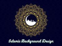 Islamic Mandala Background Design mandala art mandala background mandala design islamic background islam islamic islamic mandala mandala design vector illustration
