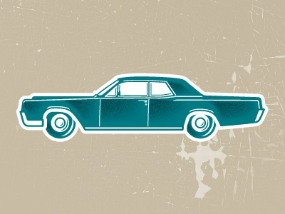 Lincoln continental dribbble