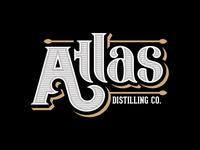 Atlas Distilling Co - wordmark