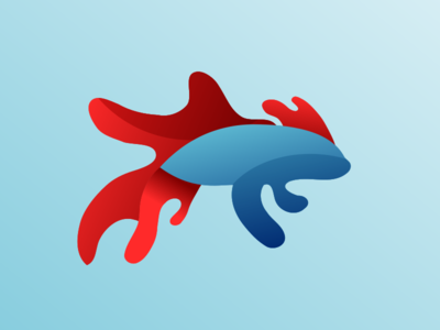 Fish Betta Logo