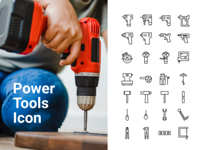 Power Tools Icon