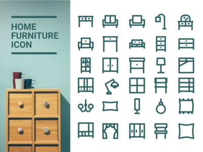 Home Furniture Icon :)