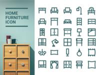 Home Furniture Icon :)