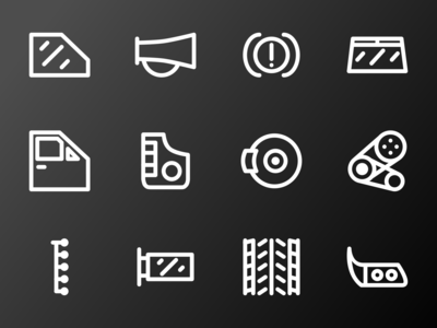 Car Icon Accessories ICON 3