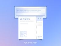 Movie ticket printing