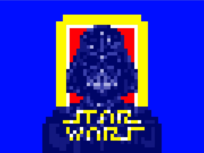 Star Wars Pixel By Dandi Hk On Dribbble