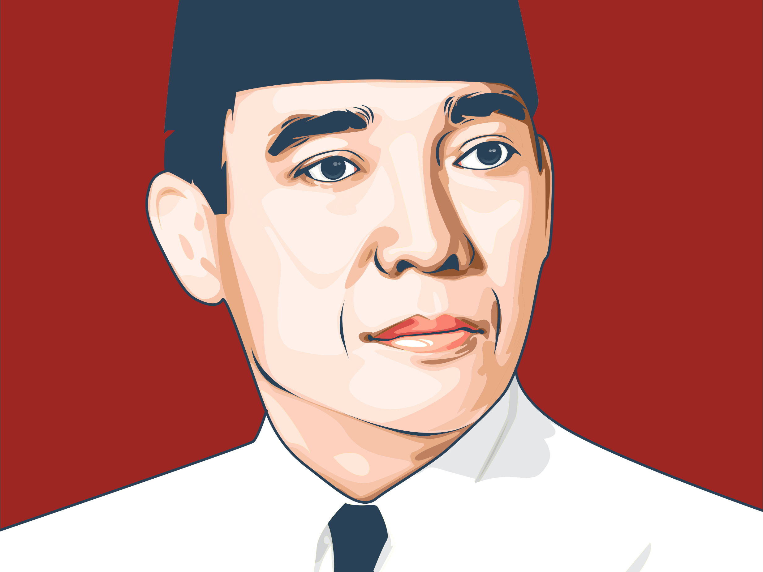 soekarno by wicaksono ariyan on dribbble soekarno by wicaksono ariyan on dribbble