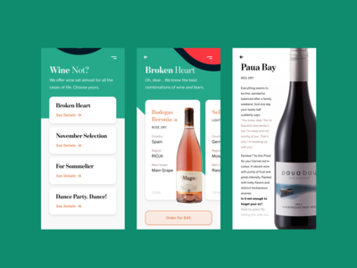 Concept – Wine App