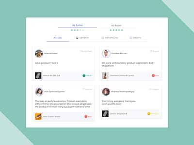 Customer Feedback web design buyer seller product feedback form user ui ux feedback interface design web