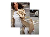 Filippa K - New Visual Identity