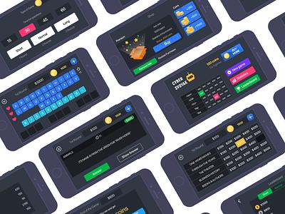 Cyber Svoyak cyber ios quiz trivia design app ui jeopardy
