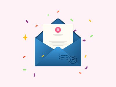 envelope mailing letters post stamp free design mailchimp enviroment energy gift illustration mailbox envelope mail ui