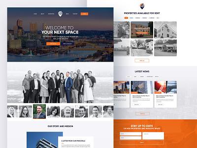 Birgo Realty - Web UI/UX Design creative design minimal design clean ui branding website web concept ux ui