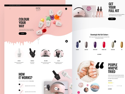 ORA London - Shopify Web Design elegant design modern design visual colorful logo fashion creative design clean ui flat website web illustration concept ux minimal ui