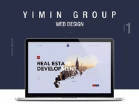 Yimin Group - Web design