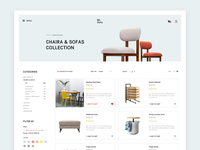 E Commerce Web Design Concept