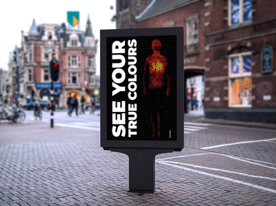 See your true colours: poster