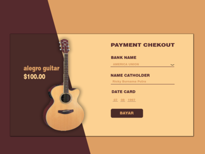 Web Checkout Design