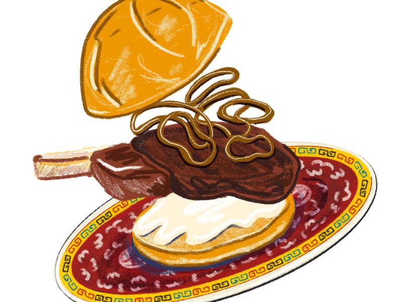 LATIMES PearlRiverDeli editorial illustration latimes los angeles times restaraunt food and beverage food drawing illustration digital illustration