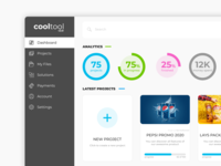 Cooltool v2.0 - Web App Dashboard. WIP
