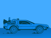 Obligatory DeLorean